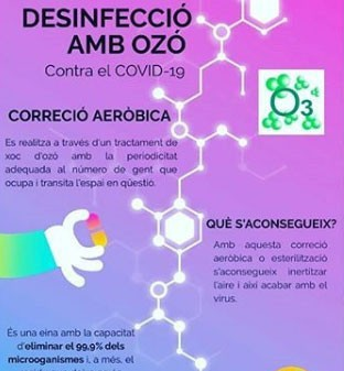 desinfeccion con ozono